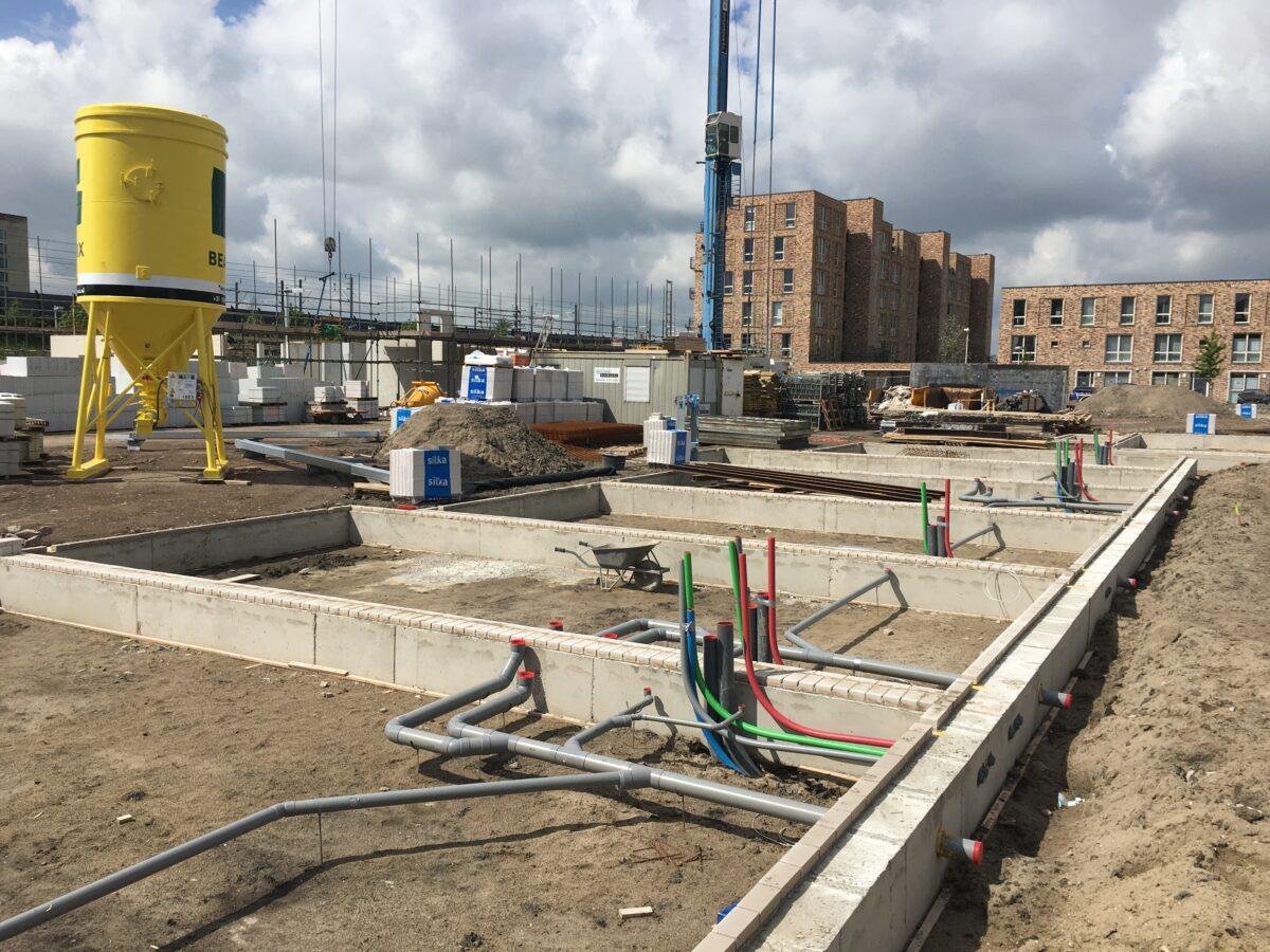 Stadsverwarming nieuwbouw project Utrecht