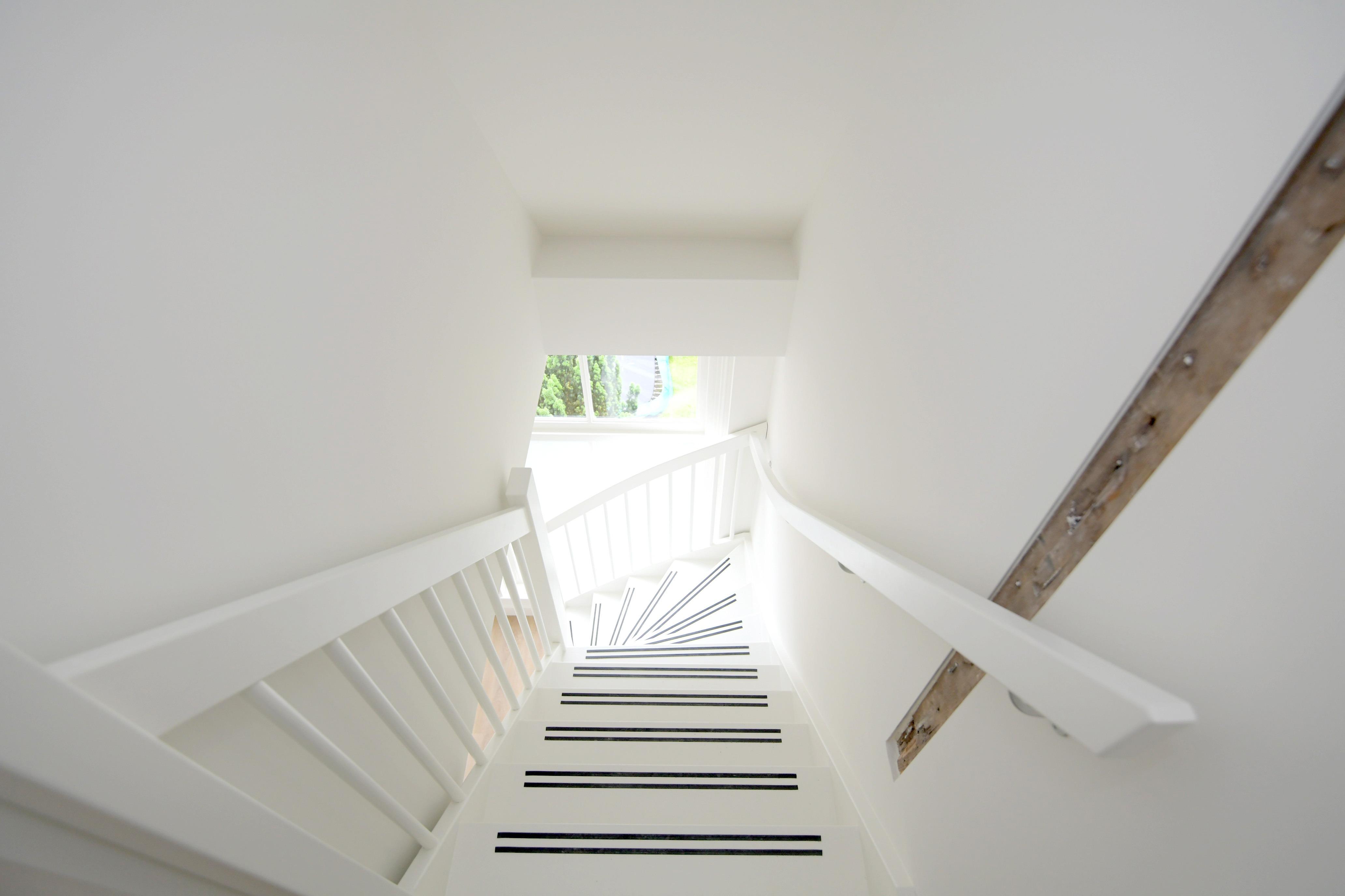 Polstraat trapopgang