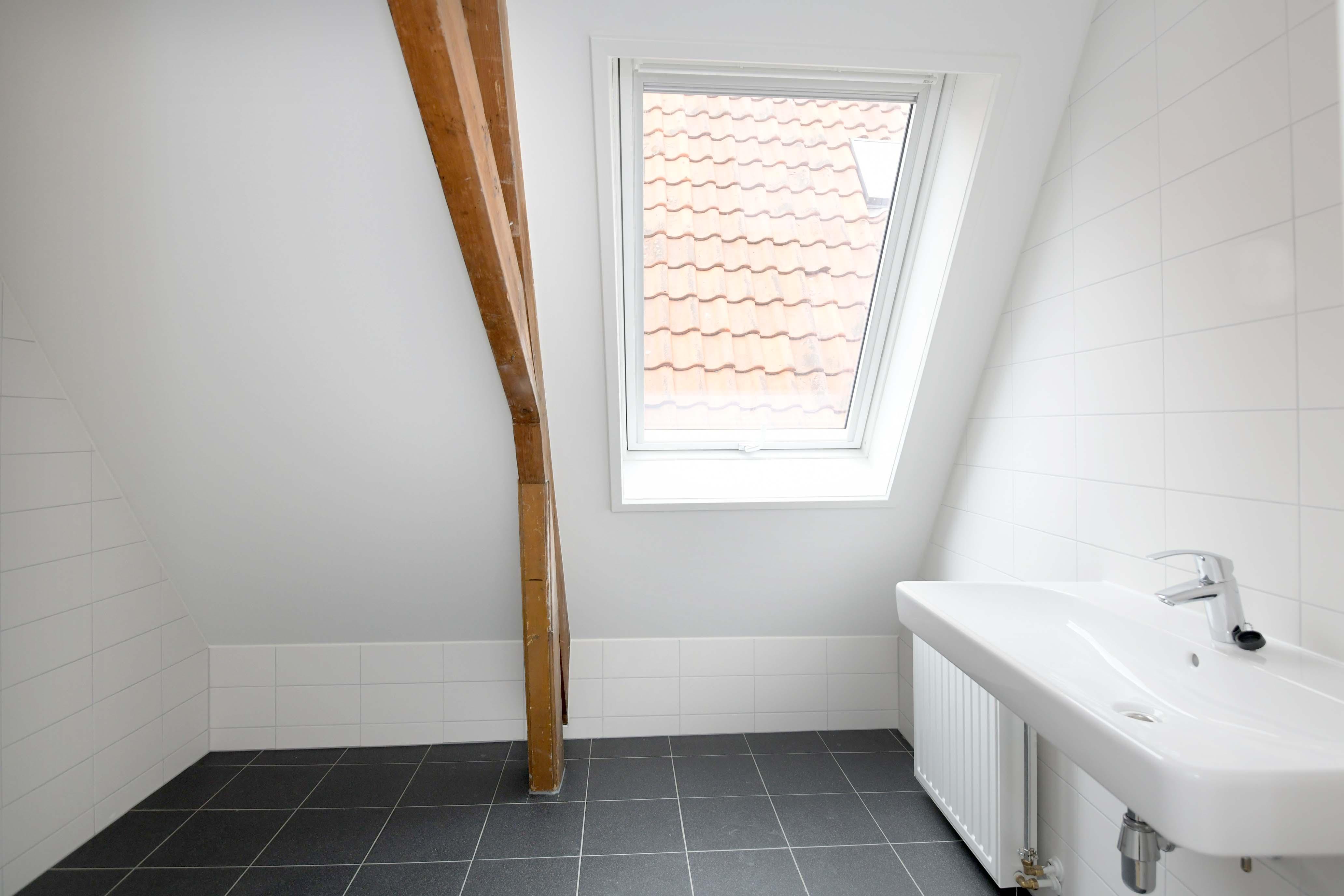 Polstraat badkamer