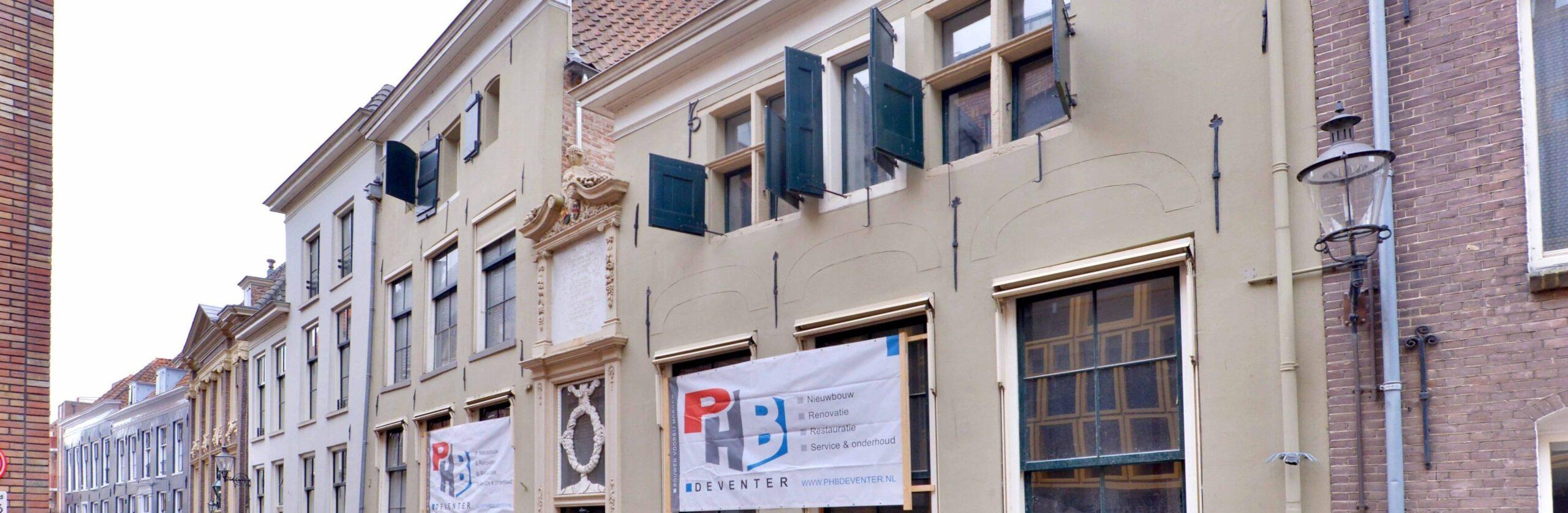 Polstraat banner