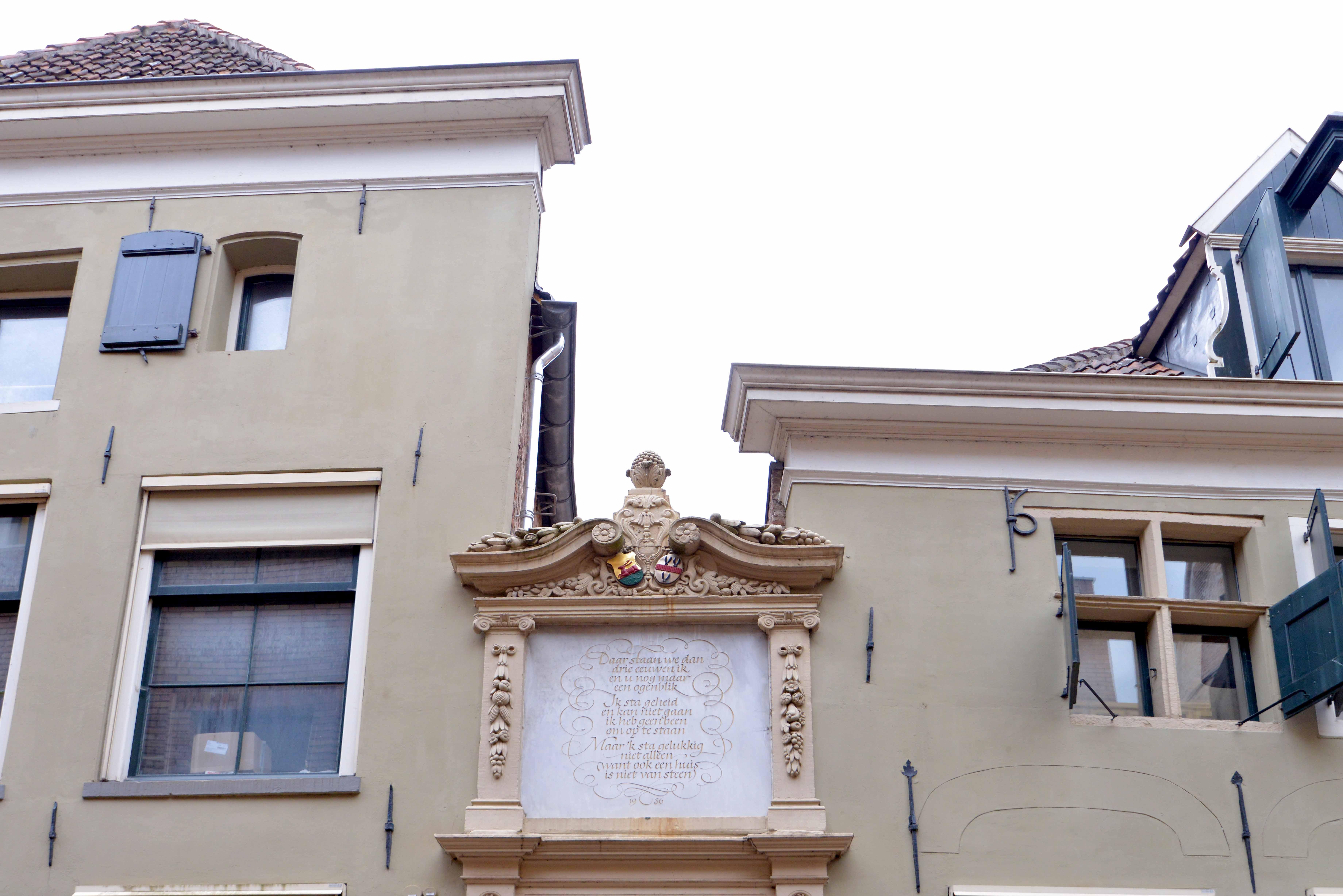 Polstraat detail