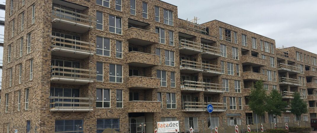 Appartementen banner