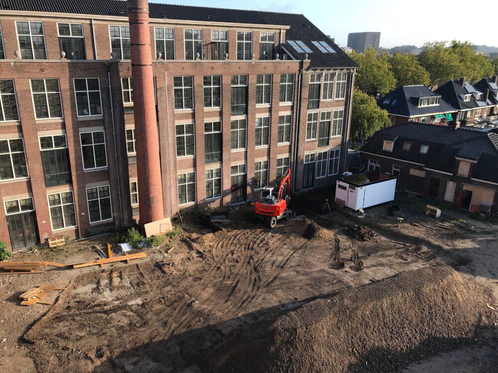 Ambachtsschool Enschede Parkeerterrein