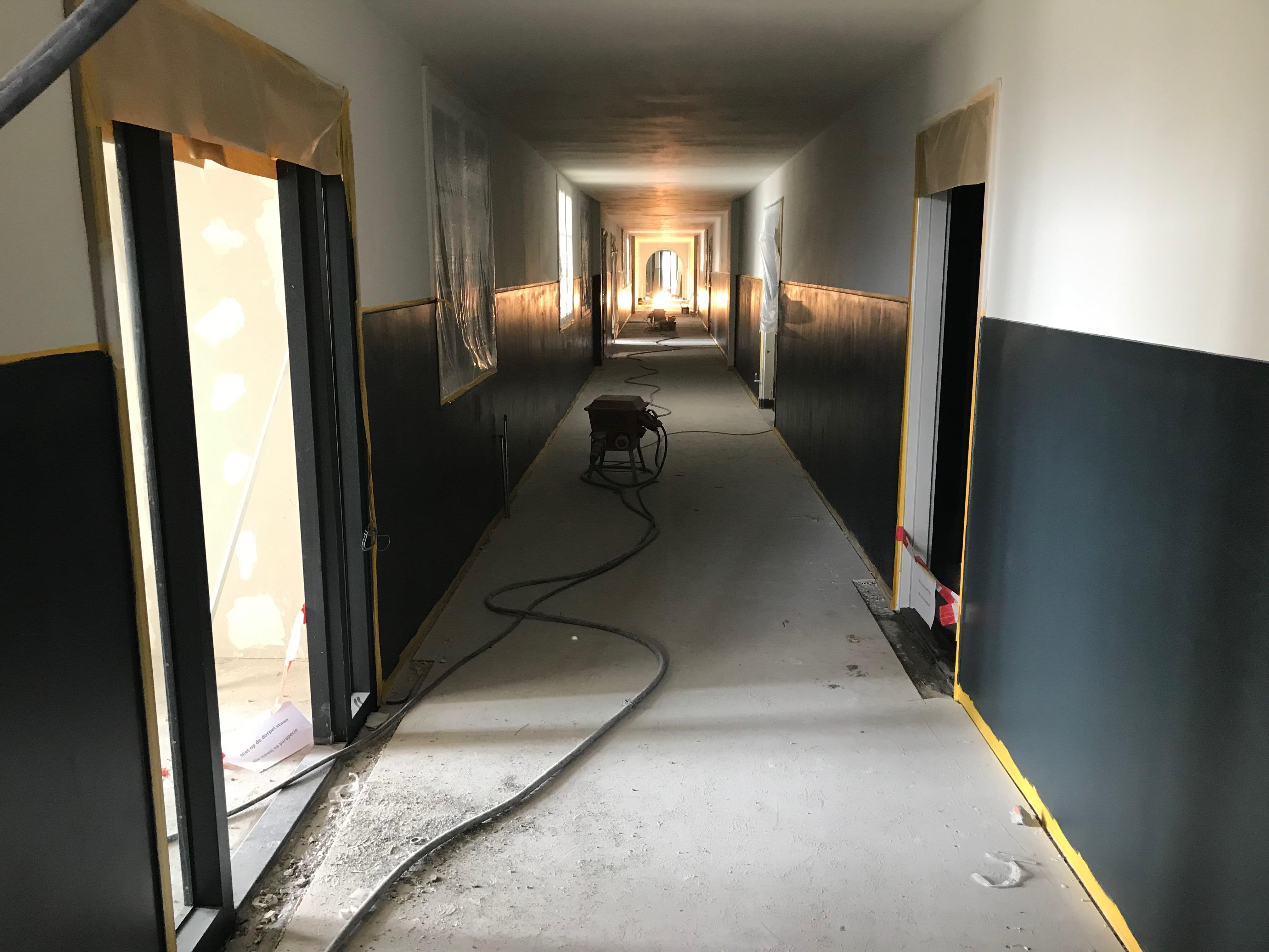 Schilderwerk gangen
