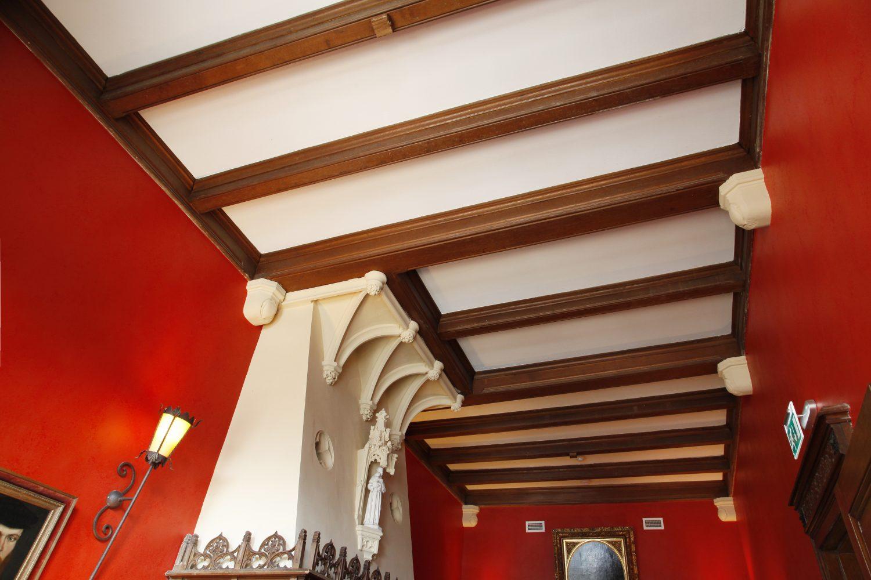 huis vermeer deventer plafond